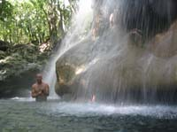 hot waterfall parasio